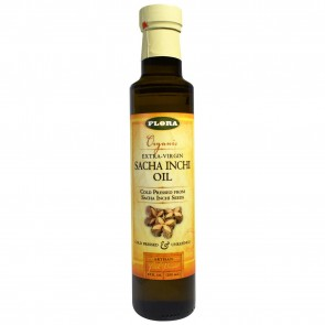 Flora Organic Extra-Virgin Sacha Inchi Oil 8.5 fl oz (250 ml)