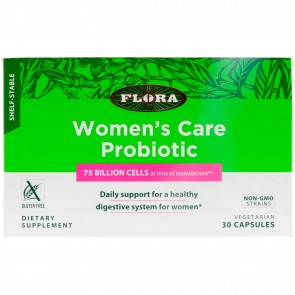 Flora Women's Care Probiotic 75 Billion Cells 30 Vegetarian Capsules