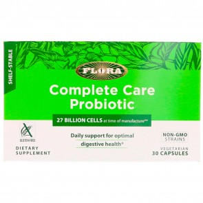 Flora Complete Care Probiotic 27 Billion Cells 30 Vegetarian Capsules