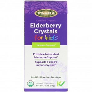 Flora Elderberry Crystals for Kids 1.7 oz (50 g)