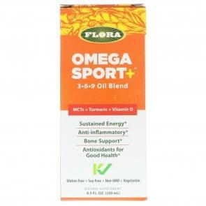 Flora Omega Sport + 3 6 9 Oil Blend 8.5 fl oz