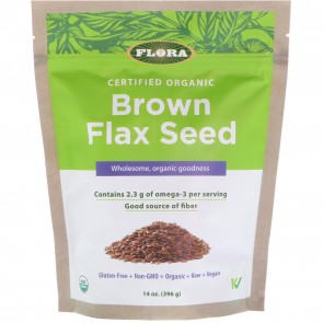 Flora Brown Flax Seed 14 oz (396g)