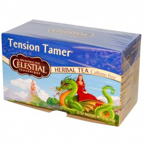 Tension Tamer 20 bags by Celestial Seasonings | Herbal Tea Caffeine Free