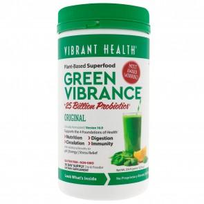 Vibrant Health Green Vibrance Version 16.0 +25 Billion Probiotics (354.9g)