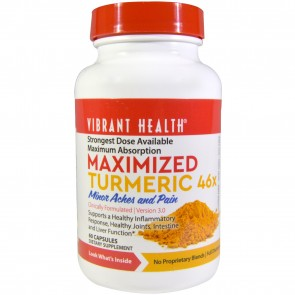 Vibrant Health Maximized Turmeric 46x