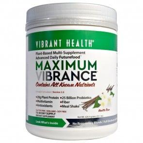 Vibrant Health Maximum Vibrance Version 3.0 Vanilla Bean 626.4 Grams