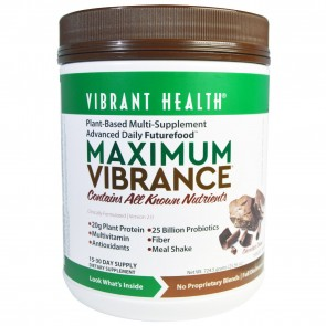 Vibrant Health Maximum Vibrance Version 3.0 Chocolate 724.5g