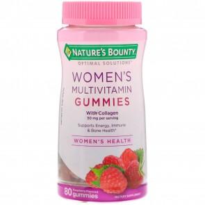 Nature's Bounty Optimal Solutions Women's Multi 50 mg, Gummies