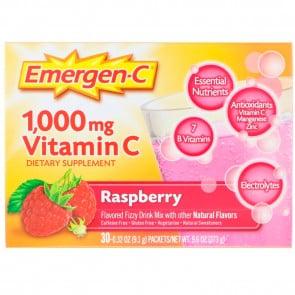 Alacer Emergen-C Raspberry 30pk