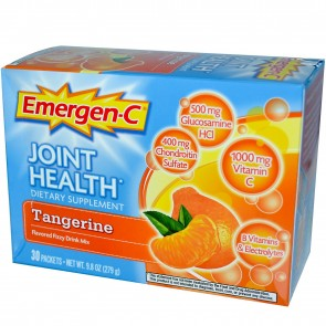 Alacer Emergen-C Joint Health Tangerine 30 Pack 9.8 oz