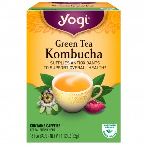 Yogi Tea Green Tea Kombucha Tea Bag 16 Bags