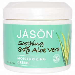 Jason- Soothing Aloe Vera 84% Moisturizing Creme- 113 Grams (4 oz)