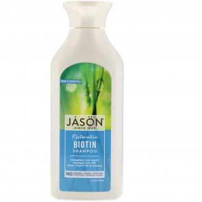 Jason Natural, Pure Natural Shampoo, Restorative Biotin, 16 fl oz (473 ml)