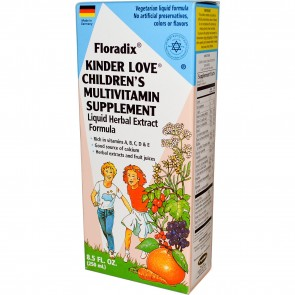 Flora Floradix Kinder Love Childrens MultiVitamin 8.5 fl oz