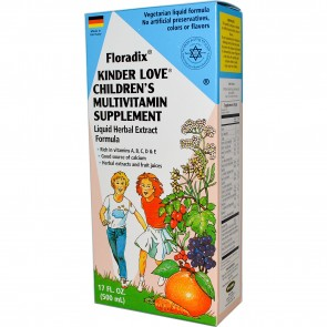 Flora Floradix Kinder Love Childrens MultiVitamin 17 fl oz