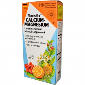 Flora Calcium Magnesium with Zinc & Vitamin D 17 oz