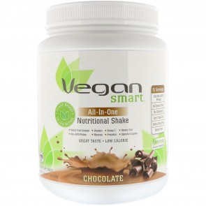 Naturade Vegan Smart All-In-One Nutritional Shake Chocolate 1.4 lbs