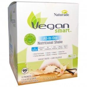 Naturade Vegan Smart All-In-One Nutritional Shake Vanilla 12 Packets