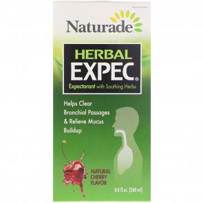 Herbal Expec Natural Cherry Flavor 8.8 fl. oz. by Naturade