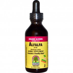 Nature's Answer, Alfalfa Herb, Organic Alcohol Extract, 2 fl oz (60 ml)