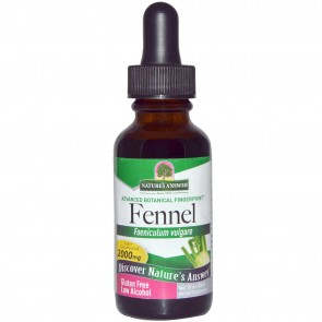 Nature´s Answer Fennel Seed Organic Alcohol Extract 1 fl oz