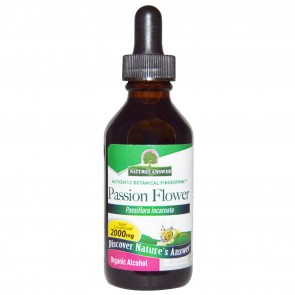 Nature's Answer Passionflower Herb Organic Alcohol 2 fl oz