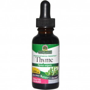 Nature's Answer, Thyme, Low Alcohol, 1,000 mg, 1 fl oz (30 ml)