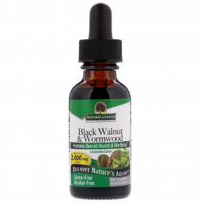 Nature's Answer Black Walnut & Wormwood Alcohol Free 1 oz. (30ml)