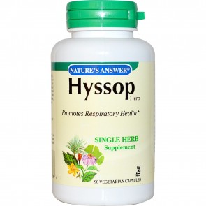Nature's Answer Hyssop 90 Capsules