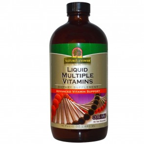 Nature's Answer Liquid Multiple Vitamins 16 fl oz