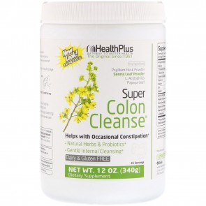 Health Plus Super Colon Cleanse 12 oz (340 Grams)
