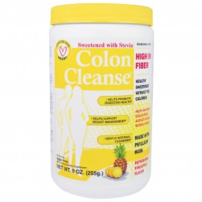 Health Plus Colon Cleanse Pineapple Sweetened with Stevia 9 oz (255g)