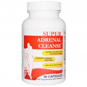 Health Plus Super Adrenal Cleanse 90 Capsules