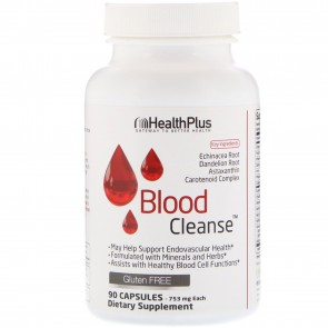 Health Plus Super Blood Cleanse 90 Capsules