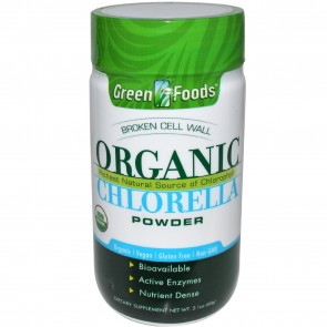 Green Foods Organic Chlorella Powder 2.1 oz