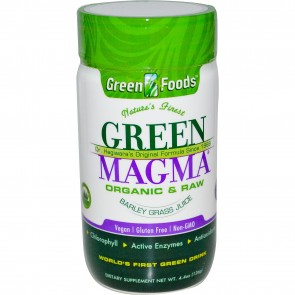 Green Foods Green Magma Barley Grass Juice 500 mg 250 Tablets