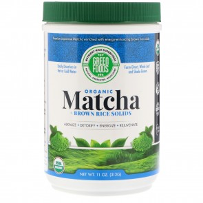Green Foods Organic Matcha Green Tea 11 oz