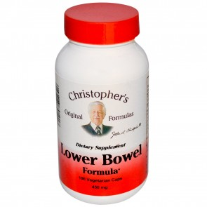 Dr. Christophers Lower Bowel Formula 100 vegetarian caps