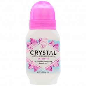 Crystal Body Deodorant Roll-On Fragrance Free 2.25 fl oz