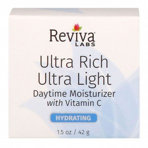 Reviva Labs Ultra Rich Ultra Light Daytime Moisturizer 1.5 oz