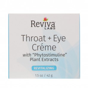 Reviva Labs Throat & Eye Cream 1.5 oz