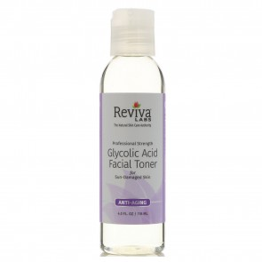 Reviva Labs Glycolic Acid Facial Toner 4 fl oz