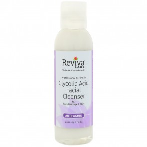 Reviva Labs Glycolic Acid Facial Cleanser 4 fl oz