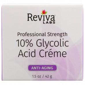 Reviva Labs 10% Glycolic Acid Cream 1.5 oz