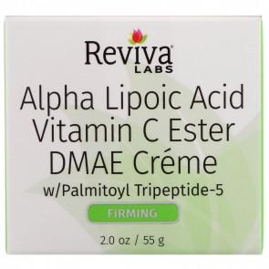 Reviva Labs - ALA, Vitamin C Ester, & DMAE Cream- 2 oz