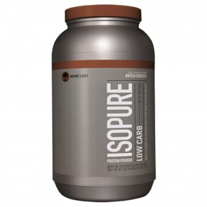 Nature's Best Low Carb Isopure 3Lb Dutch Chocolate