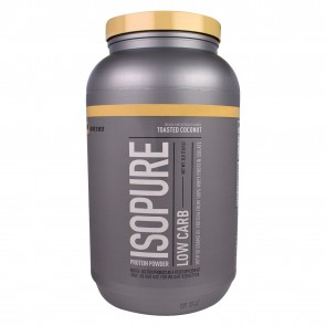 Nature's Best Low Carb Isopure 3Lb Toasted Coconut
