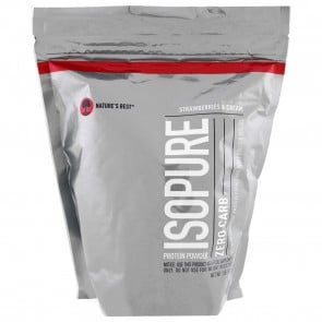Nature's Best Isopure Zero Carb Strawberry & Cream 1 lb