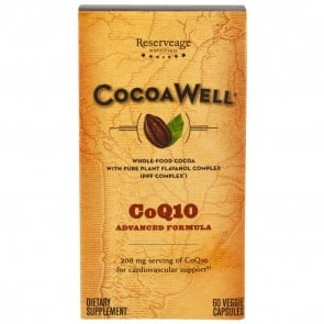 CocoaWell CoQ10 Heart 60 Vegie Capsules