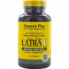 Nature's Plus Multi-Nutrient Formula Iron Free Ultra I 90 Tablets